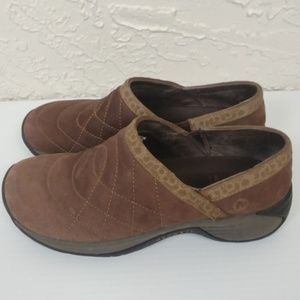 Merrell Encore Quilt Bracken Brown Clogs